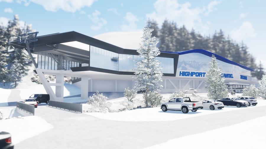 Talstation Highport Flachauwinkl