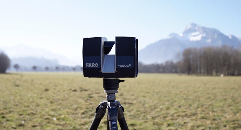 FARO 3D Aufnahme